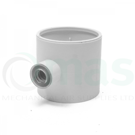 Condensation Trap for circular plastic duct