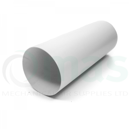 Plastic Pipe - Wall Sleeve - 350mm (L) for circular plastic duct