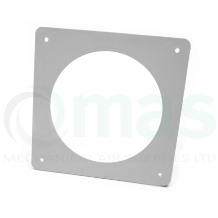 Round Wall Plate for Circular Plastic Duct