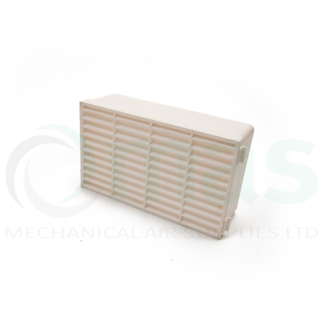 White Double Airbrick - For Megaduct 220