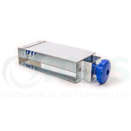 Balancing Damper (Metal) for Rectangular Plastic Duct