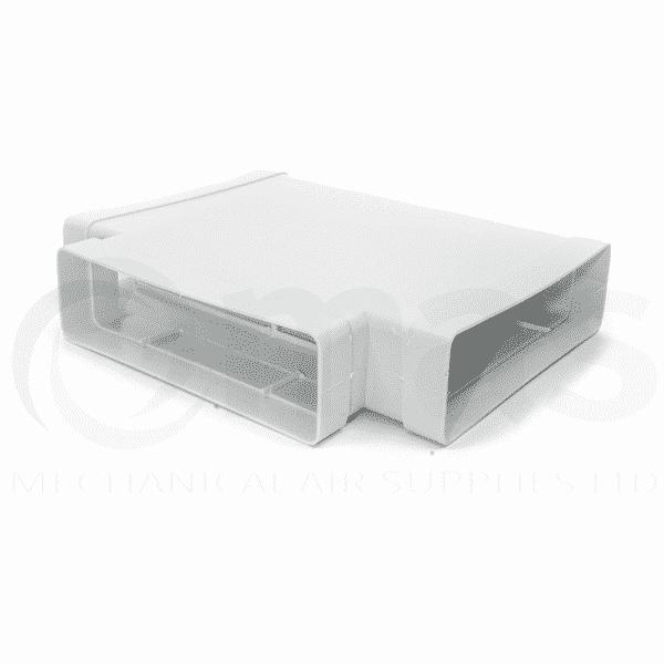 Horizontal Tee Piece For Megaduct 220 Mechanical Air