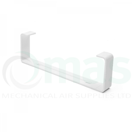 Support Clip ('C' Clip) for Flat Channel Plastic Duct