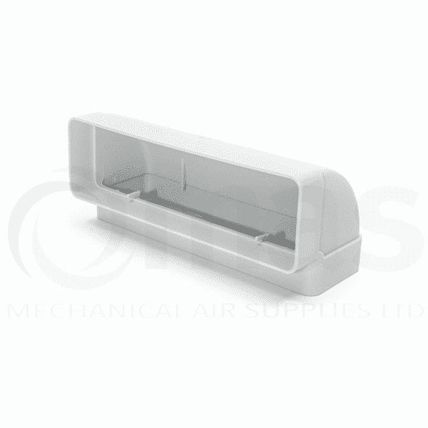204x60mm Vertical 90 Degree Bend For Supertube 125 Flat