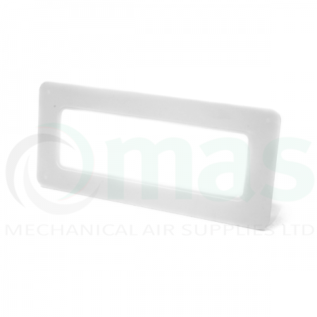 Square Wall Plate for Flat Channel Plastic Duct