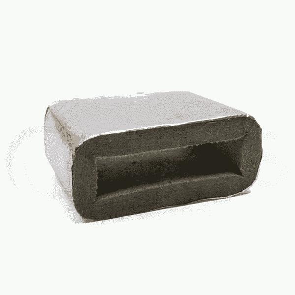 Intumescent Duct Sleeve Grey Mechanical Air Supplies Ltd