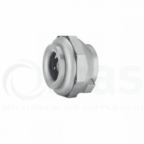 Helios RRK In-Line Centrifugal Plastic Cased Fan