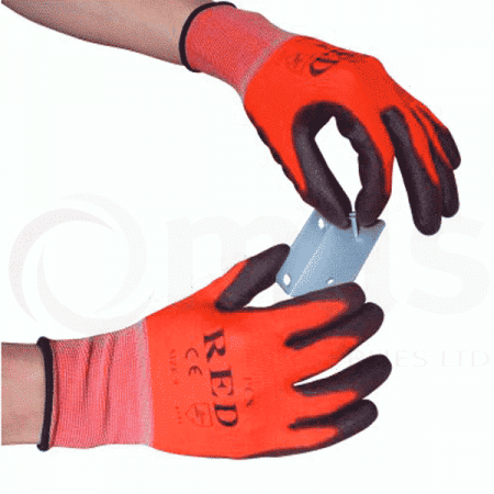 Low cut protection safety glove