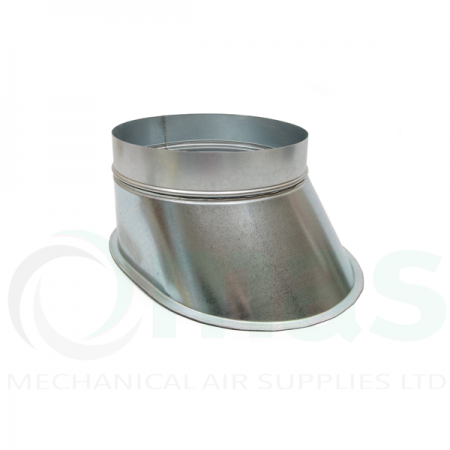 Flat Shoes for Spiral Ducting