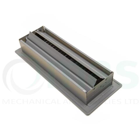 Steel Floor Grille - Beige (reverse)