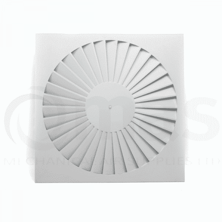 Swirl Ceiling Diffuser (Straight Blades)