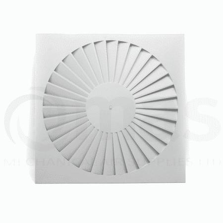 Swirl Ceiling Diffuser (Straight Blades)