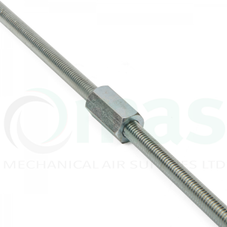 Connector for threaded rod / studding