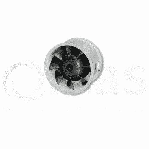 Helios VARD-315/4 315mm 4-pole In-Line Mixed Flow Fan