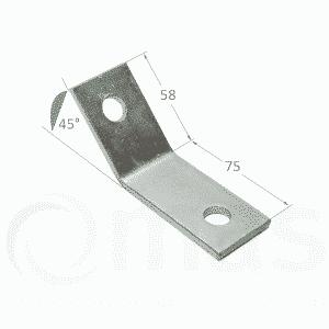 45 176 Obtuse Angle Bracket Mechanical Air Supplies Ltd