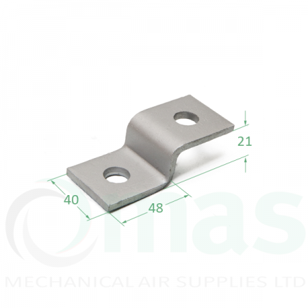 Shallow Z Bracket (2 Holes)