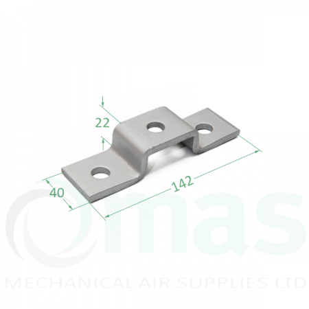 1/2 Channel U Bracket (Top Hat)