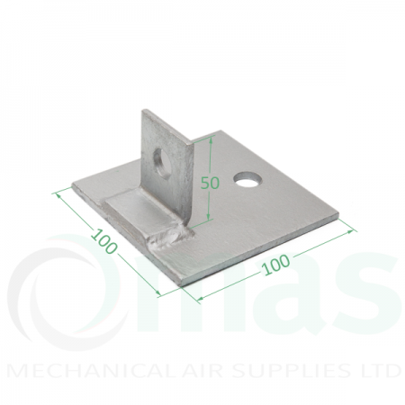 Single Channel Base Plate (1 Hole)