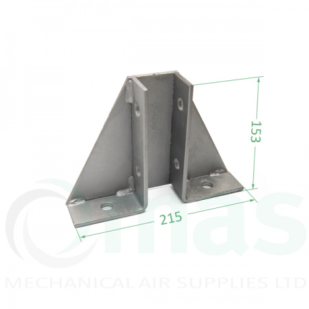 Single Channel Braced Bracket