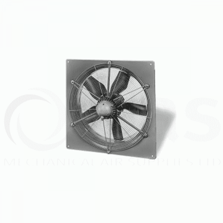 Helios HQW 630/4 Sqaure plate axial fan 4 pole Single phase