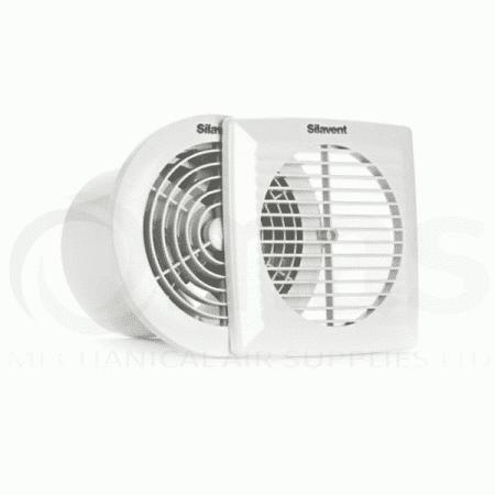 Heat recovery bathroom fan