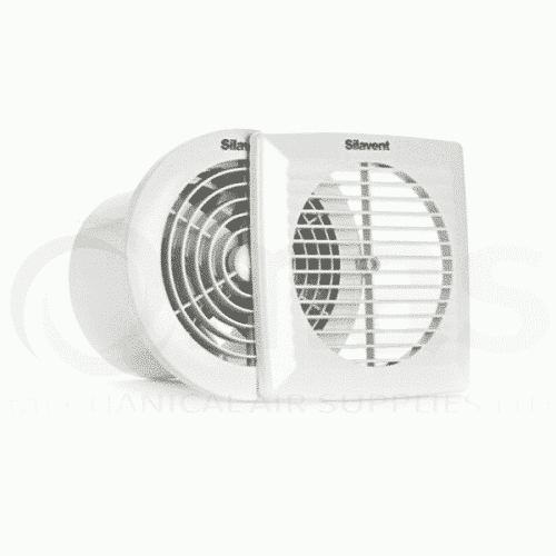Silavent SLP Slim Profile Fan & Timer with square and circular face