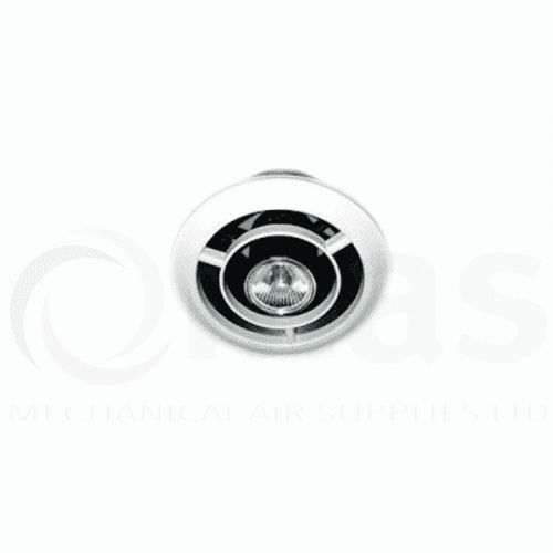 Air Valve with spot light fitting