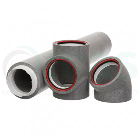 125mm Diameter Self Sealing Thermal Ducting