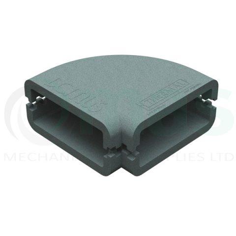 Domus Thermal Shell horizontal 45 deg bend 204x60-220x90