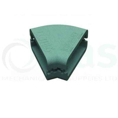 Supertube Rigid Duct Insulation, 45º Horizontal Bend