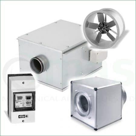 Ventilation Duct Fans & Heaters
